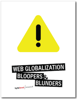 cover of Global Blooopers report