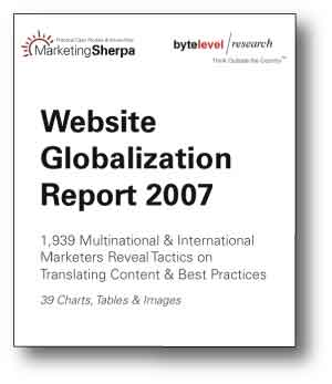 Website Globalization Report 2007