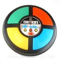 Simon electronic game