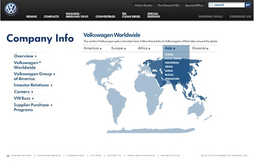 Volkswagen Global Gateway
