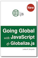Going global with javascript and globalize. Js.