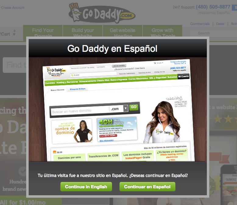 Go Daddy Espanol