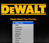 Global gateway fail: DeWalt