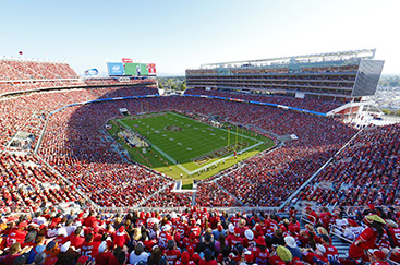 September 14, 2014:  The  San Francisco 49ers vs Chicago Bears. The San Francisco 49ers 2014 season opening day at Levi's Stadium. Selected view and Images from around the Levi's Stadium. The 49ers Lost 28-20 to the Bears at Levi's Stadium in Santa Clara, CA. (49ers Photo)