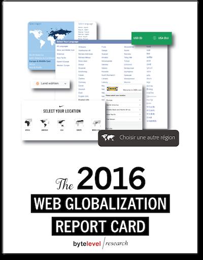 Web Globalization Report Card 2016