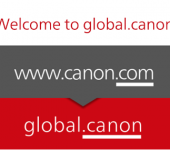 Canon launches .canon along with improved global web design