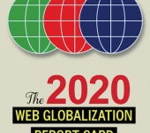 The top 10 global websites from the 2020 Web Globalization Report Card