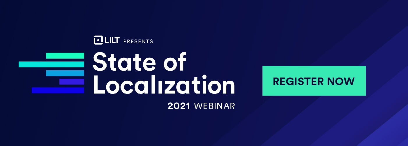 State of Localization Webinar banner